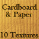 10 Tileable Cardboard & Paper Texture Patterns - GraphicRiver Item for Sale