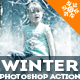PS圖片變成下雪特效Winter is-Graphicriver中文最全的素材分享平台