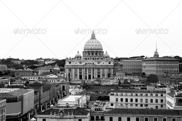 St. Peter's Basilica - Stock Photo - Images