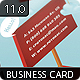 Billboard Business Card 11.0 - GraphicRiver Item for Sale