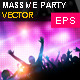 Party Music Vector - GraphicRiver Item for Sale