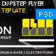 Nightclub - Dubstep Flyer Design Template - GraphicRiver Item for Sale