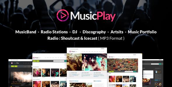 Musicplay Music Amp Dj Responsive Wordpress Theme By