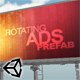 Banner rotater - Unity Prefab - ActiveDen Item for Sale