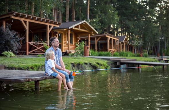 отдых и рыбалка на озере московская область