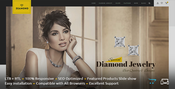 Diamond - Responsive OpenCart Theme