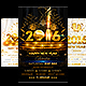New Year Party Flyer Bundle-Graphicriver中文最全的素材分享平台