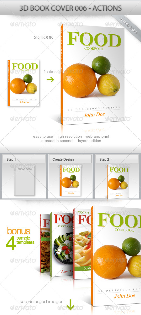 GraphicRiver 3D Book Cover 006 165663