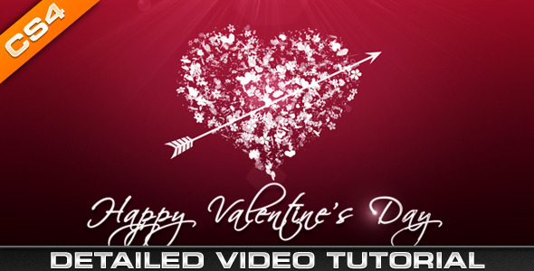 After Effects Project - VideoHive Valentine Heart 1393930