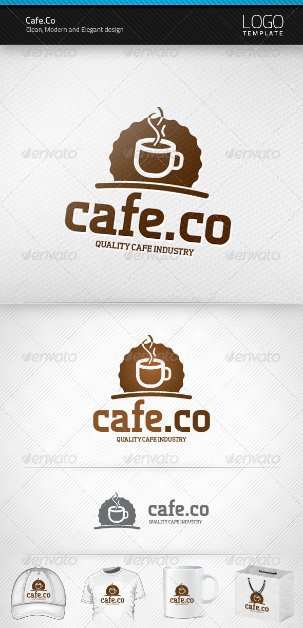 Cafe Co Logo - Food Logo Templates