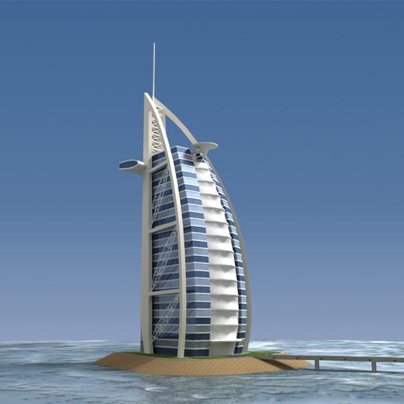 3DOcean Burj Al Arab 1395912