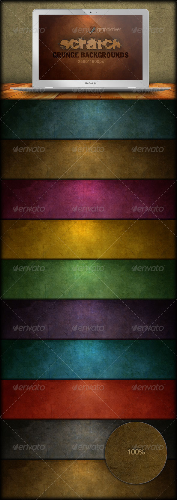 GraphicRiver Scratch Grunge Backgrounds 165966
