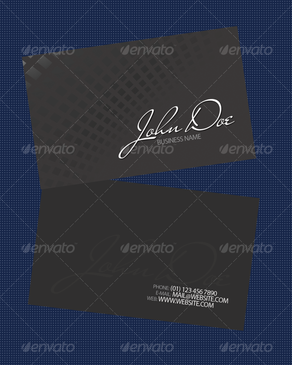 Gris Business Card - Corporate Business Cards
