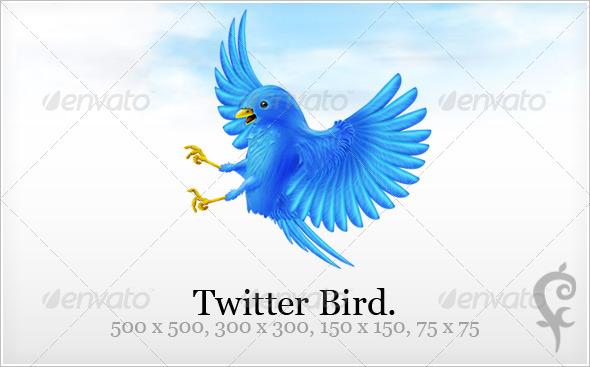 GraphicRiver Twitter Bird 49302