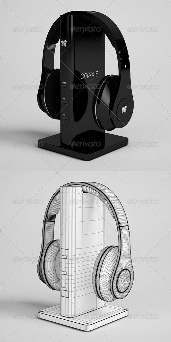 3DOcean CGAxis Headphones Electronic 33 166384