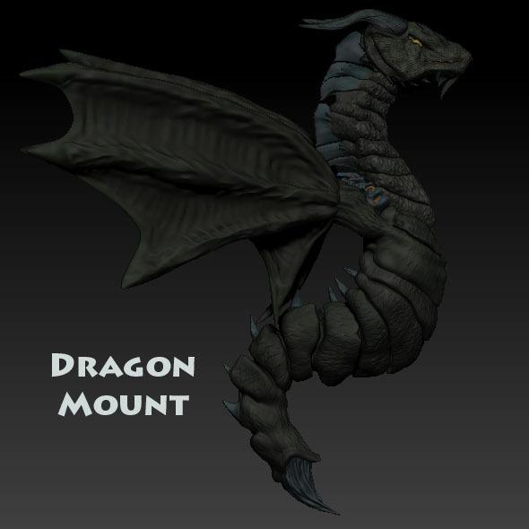 3DOcean Dragon Mount 1402788