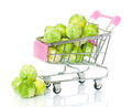 Brussels Sprouts in the Shopping Cart - PhotoDune Item for Sale