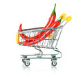Chili Papper in the Shopping Cart  - PhotoDune Item for Sale