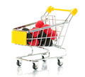 Raspberry blackberry fruit in the shopping cart  - PhotoDune Item for Sale