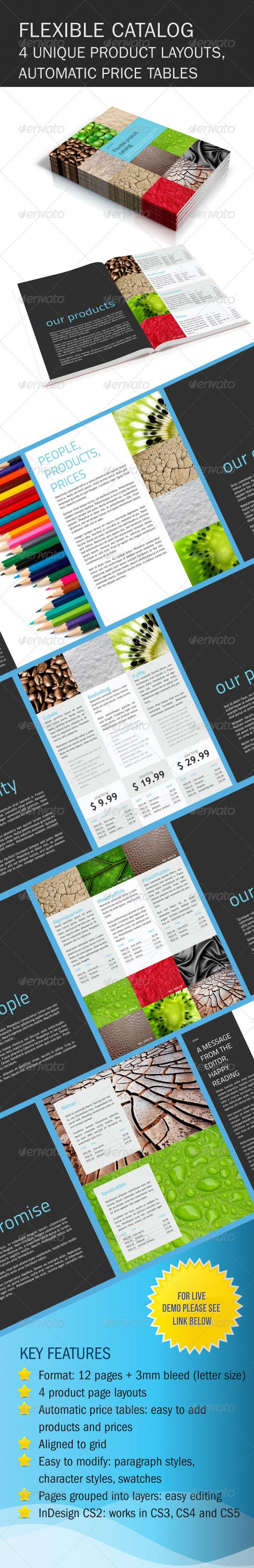 GraphicRiver Flexible Product Catalog 147401