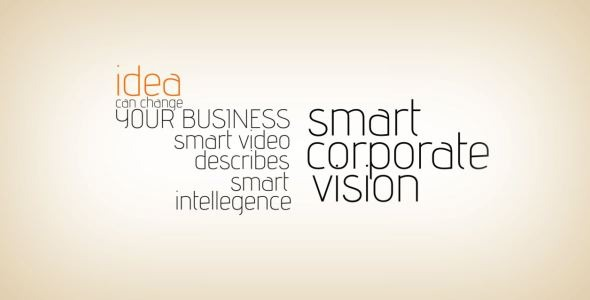 After Effects Project - VideoHive The Business Typo 1409057