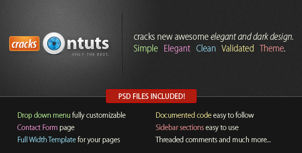 Cracks - Community Theme - Html Theme