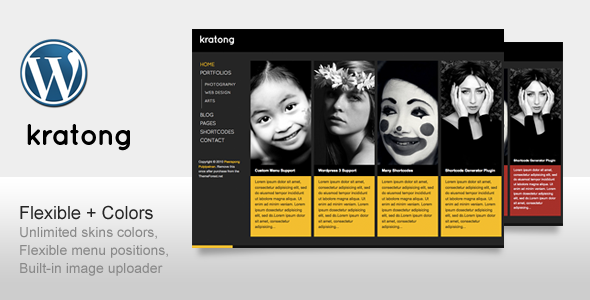 Kratong wordpress theme download