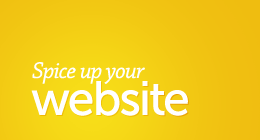 Spice up your Website!