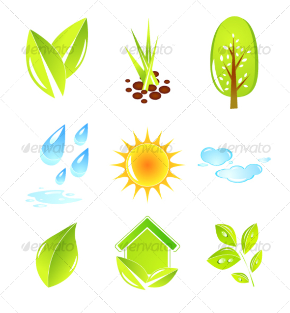 Nature design elements - Nature Conceptual