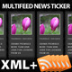 MultiFeed RSS News Ticker - ActiveDen Item for Sale