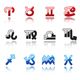 Glossy symbols of horoscope - GraphicRiver Item for Sale