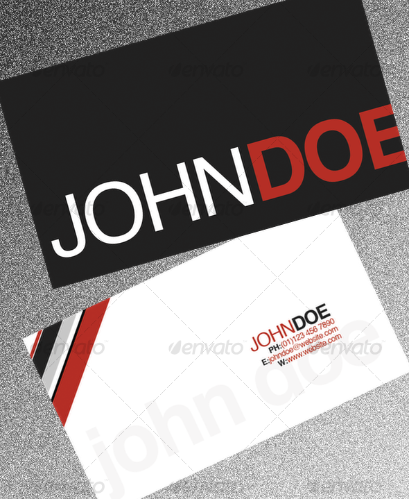 GRB Business Card - Corporate Business Cards