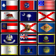 United States Pixel Flag Icons - GraphicRiver Item for Sale