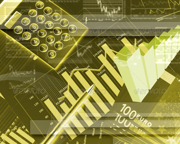 Stock Photo - PhotoDune FInancial diagrams charts and graphs 1419919