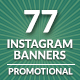 Instagram Banners Promo-Graphicriver中文最全的素材分享平台
