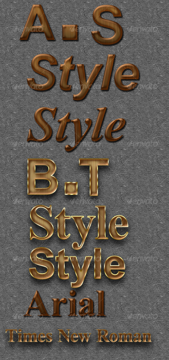 GraphicRiver Wood Text Effect 56472