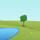 Drawn Landscape Background - GraphicRiver Item for Sale