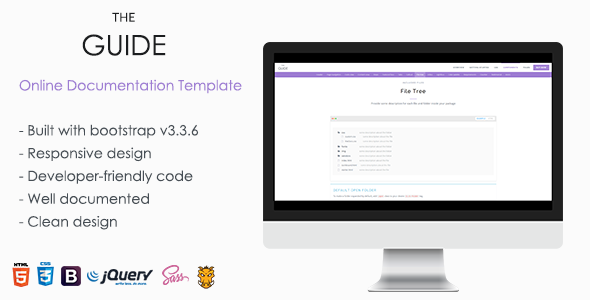 TheGuide Online Documentation Template by TheThemeio – Software User Guide Template
