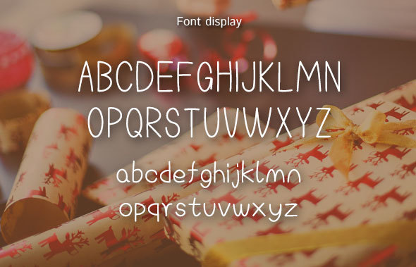 Unaffected-Concise font