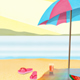 Summery Beach Scene - GraphicRiver Item for Sale