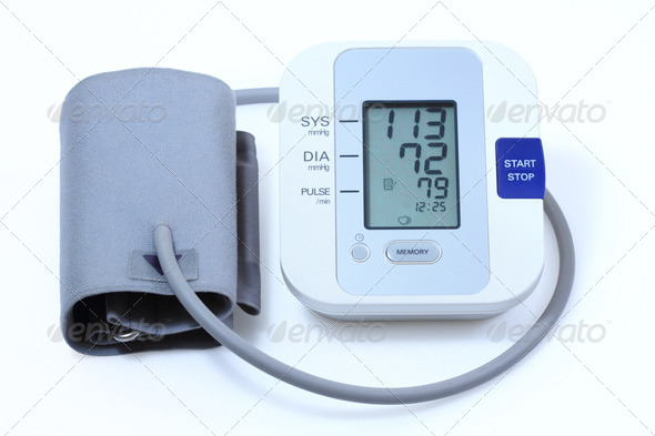 blood pressure equipment - Stock Photo - Images