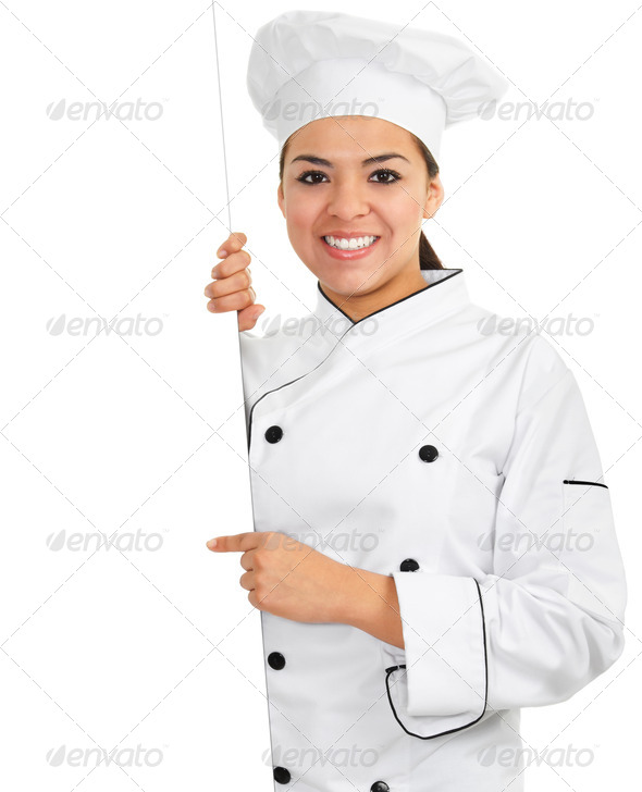 Female Chef - Stock Photo - Images