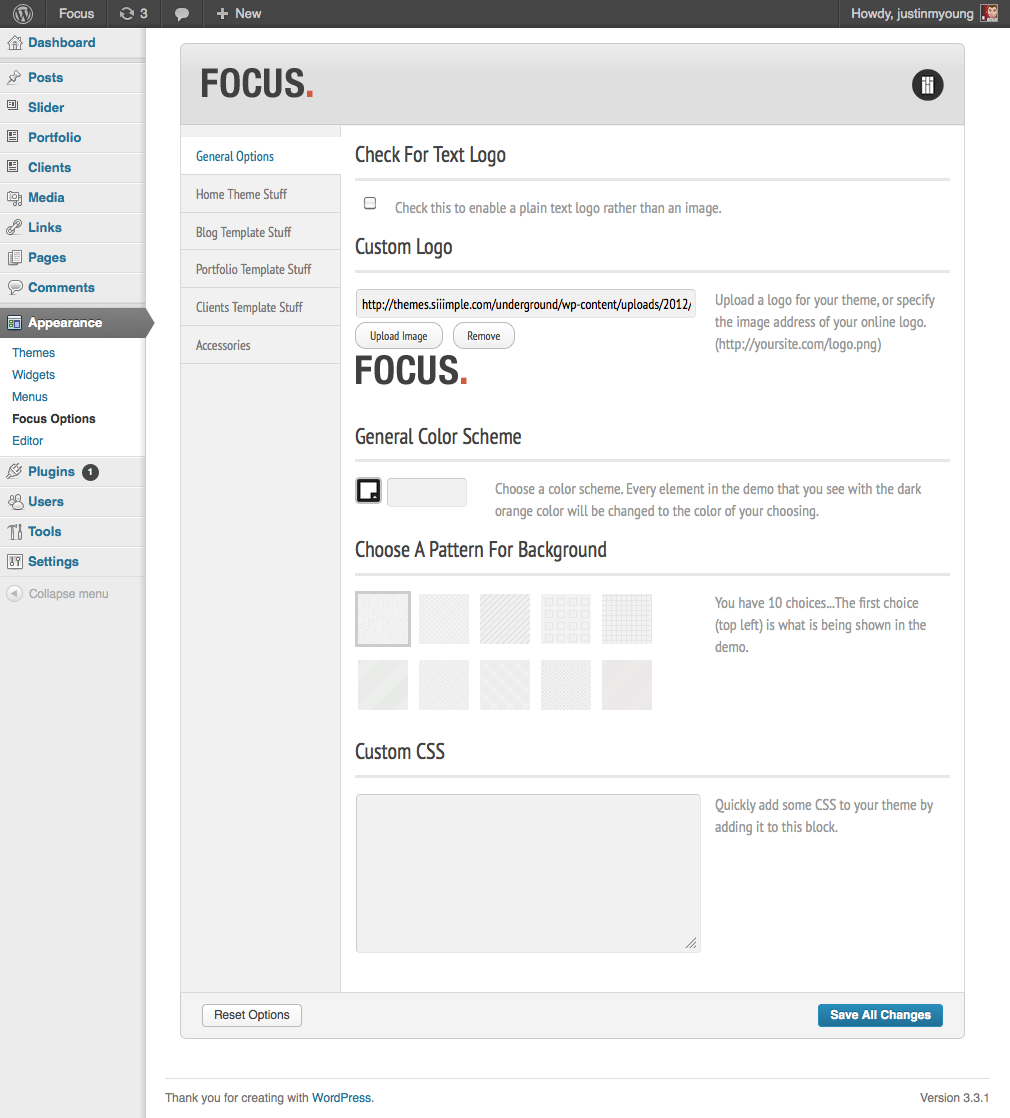 Focus - Responsive Portfolio & Business