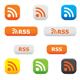 Rss buttons and symbols - GraphicRiver Item for Sale