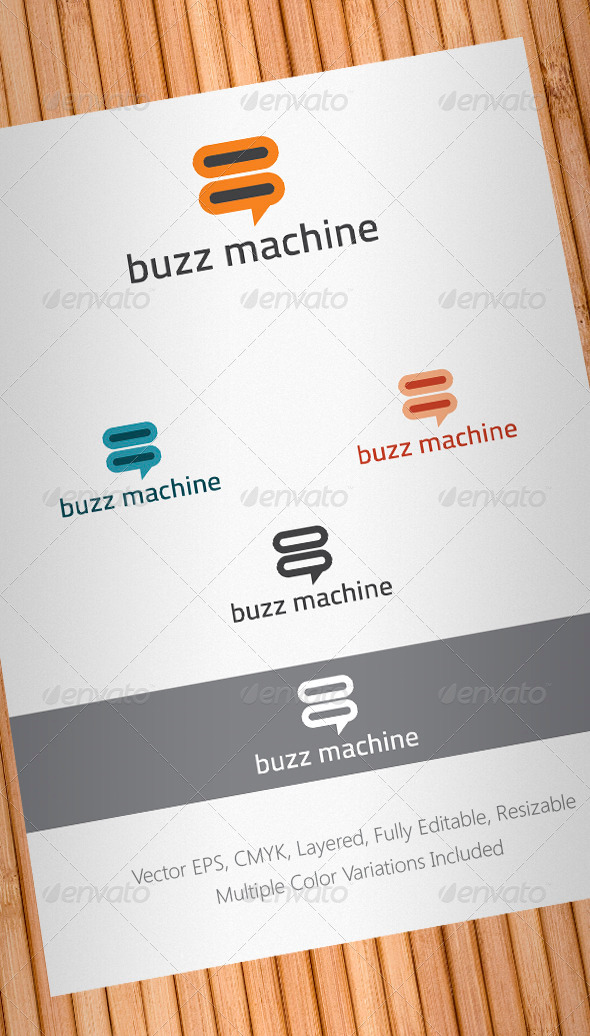 Buzz Machine Logo Template - Abstract Logo Templates