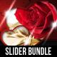 2 in 1 Valentines Day Slide-Graphicriver中文最全的素材分享平台