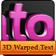 3D Warped Text Styles - GraphicRiver Item for Sale