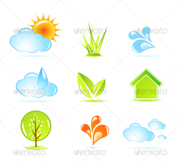 Nature icons - Web Icons