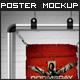 Aluminium Poster Frame Mockup - Premium Kit - GraphicRiver Item for Sale