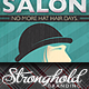 Vintage Salon Flyer - GraphicRiver Item for Sale